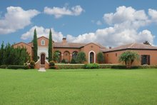 Mediterranean Exterior - Front Elevation Plan #1058-18
