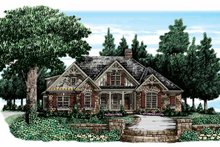 House Design - Country Exterior - Front Elevation Plan #927-311