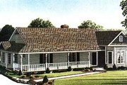 Victorian Style House Plan - 3 Beds 2 Baths 1772 Sq/Ft Plan #410-102