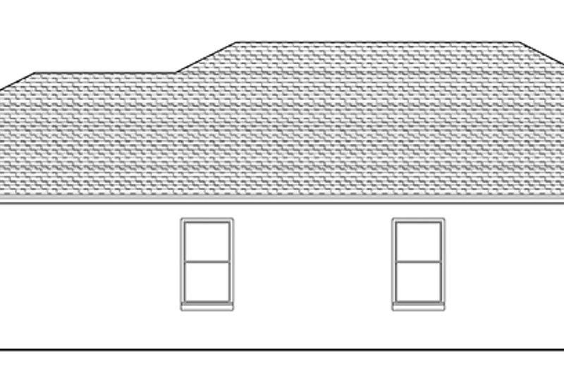 Mediterranean Exterior - Other Elevation Plan #1058-93 - Houseplans.com