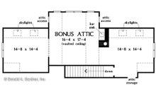 Craftsman Floor Plan - Other Floor Plan Plan #929-1079