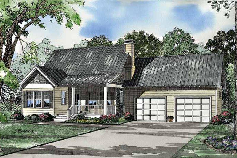 Home Plan - Craftsman Exterior - Front Elevation Plan #17-3036