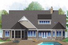 Ranch Exterior - Rear Elevation Plan #929-1007