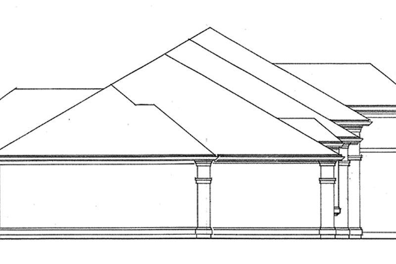 European Exterior - Other Elevation Plan #966-76 - Houseplans.com