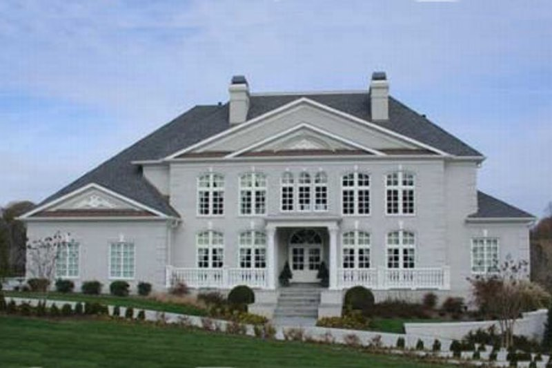 Architectural House Design - Classical Exterior - Front Elevation Plan #119-180