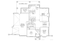 European Floor Plan - Main Floor Plan Plan #945-137