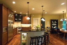 Architectural House Design - Prairie Interior - Kitchen Plan #928-50