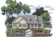 Country Exterior - Front Elevation Plan #952-236