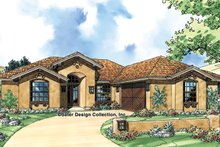 Mediterranean Exterior - Front Elevation Plan #930-304