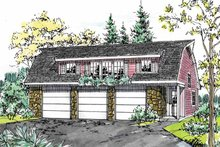 Dream House Plan - Colonial Exterior - Front Elevation Plan #315-126