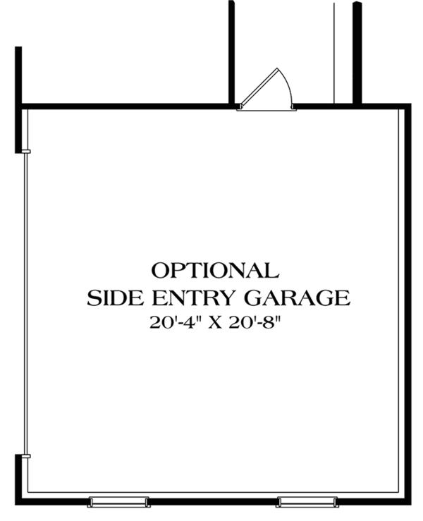 Colonial Floor Plan - Other Floor Plan Plan #453-627
