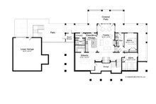 Traditional Floor Plan - Lower Floor Plan Plan #928-262