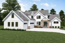 Home Plan - Farmhouse Exterior - Front Elevation Plan #1070-119