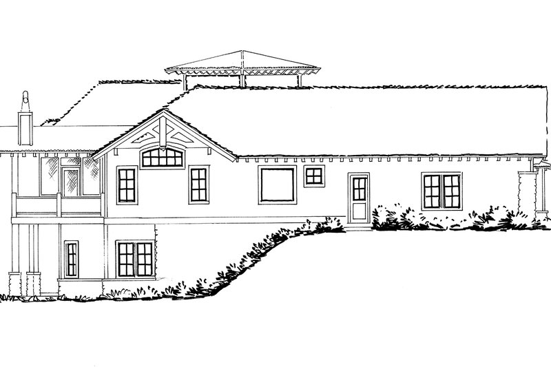 Ranch Exterior - Other Elevation Plan #942-31 - Houseplans.com