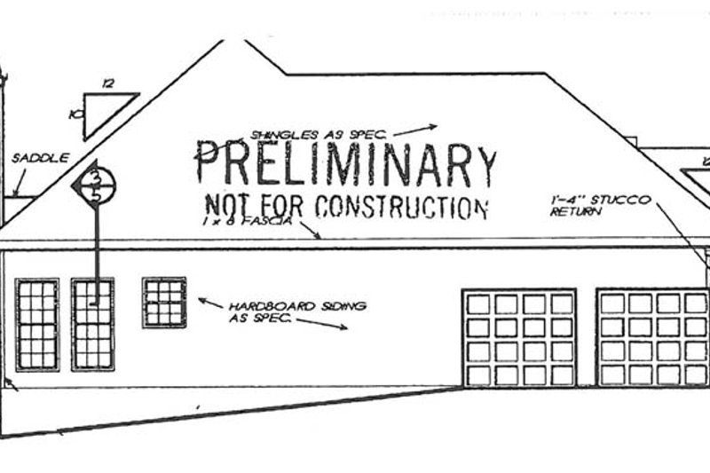 Country Exterior - Other Elevation Plan #927-240 - Houseplans.com
