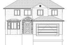 Home Plan - Traditional Exterior - Front Elevation Plan #1060-7