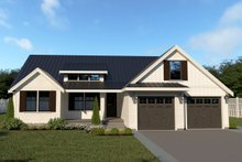 Farmhouse Exterior - Front Elevation Plan #1070-21