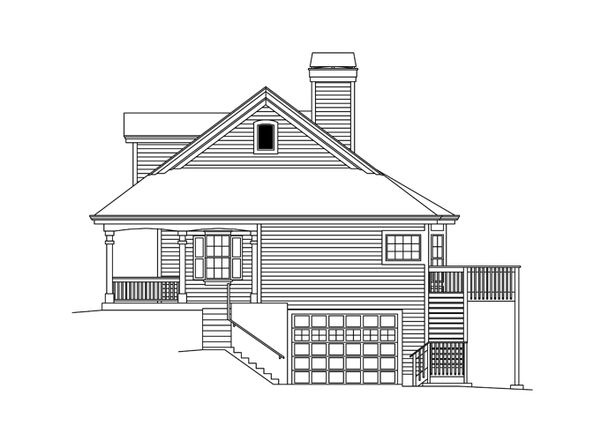 Ranch Floor Plan - Other Floor Plan Plan #57-635