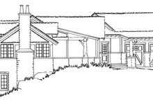 House Plan Design - Country Exterior - Other Elevation Plan #942-29