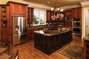 European Style House Plan - 3 Beds 3.5 Baths 3874 Sq/Ft Plan #929-929 Interior - Kitchen