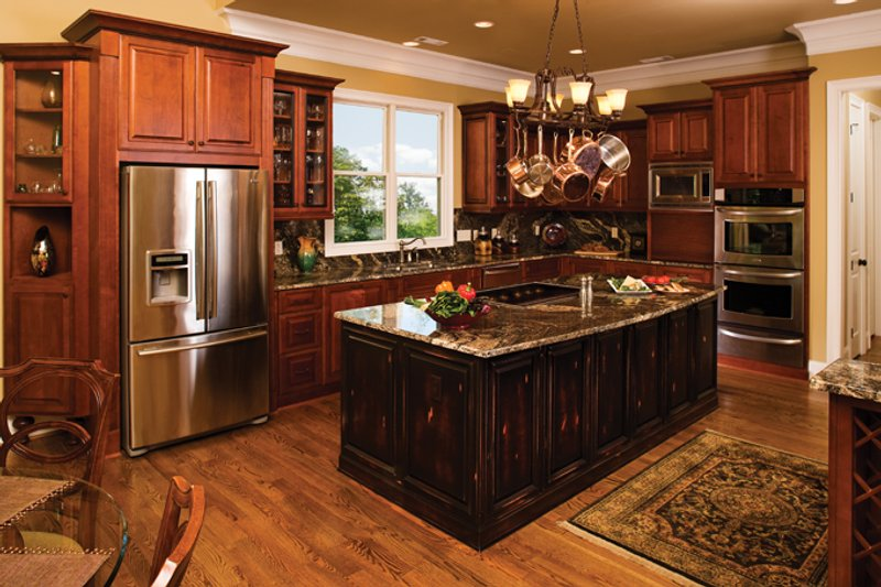European Interior - Kitchen Plan #929-929 - Houseplans.com