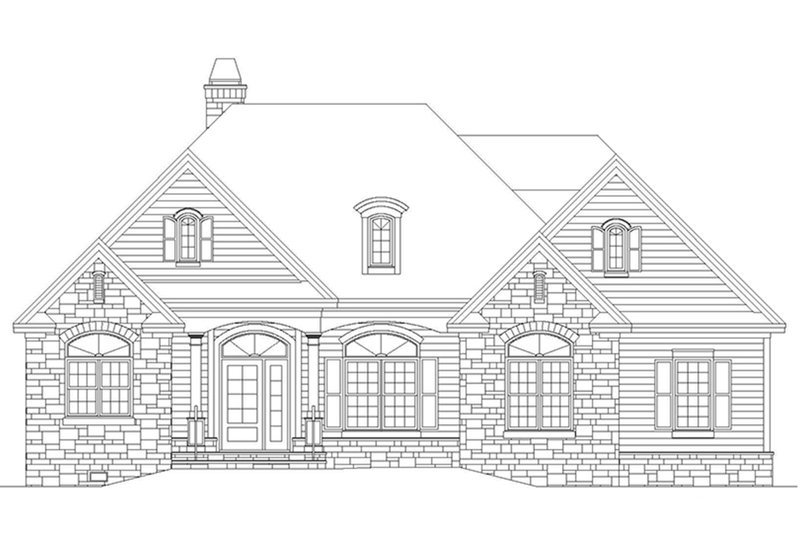 Country Exterior - Front Elevation Plan #929-700 - Houseplans.com