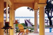 Architectural House Design - Mediterranean Exterior - Rear Elevation Plan #930-283