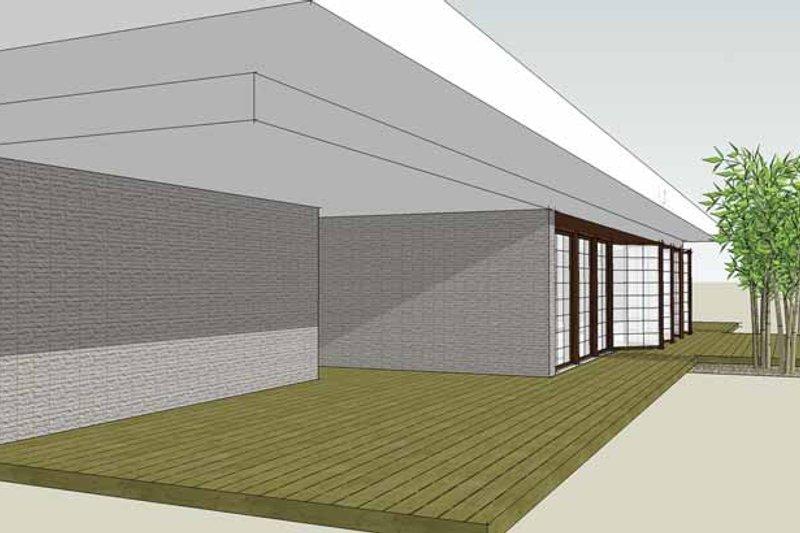 Contemporary Exterior - Front Elevation Plan #64-308 - Houseplans.com