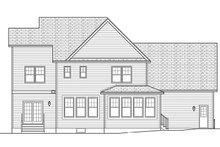 House Plan Design - Traditional Exterior - Rear Elevation Plan #1010-133