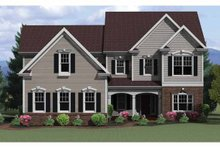 House Plan Design - Colonial Exterior - Front Elevation Plan #1010-19