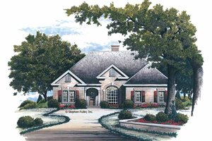 House Design - Traditional Exterior - Front Elevation Plan #429-116