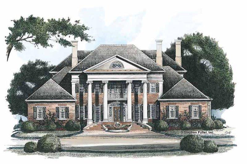 Classical Exterior - Front Elevation Plan #429-144 - Houseplans.com