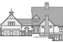 Craftsman Exterior - Front Elevation Plan #928-280