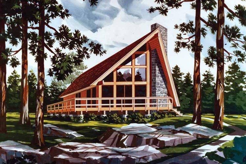 House Plan Design - Exterior - Front Elevation Plan #456-60