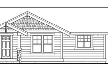 Dream House Plan - Craftsman Exterior - Front Elevation Plan #132-525