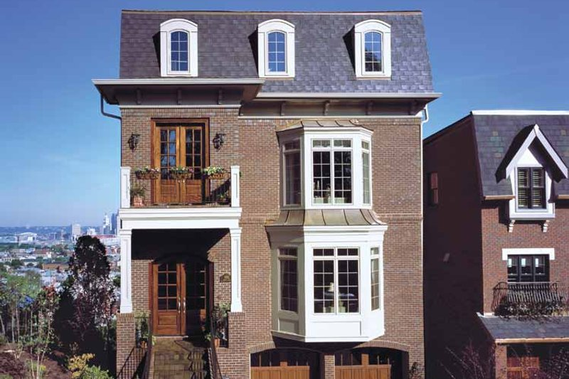European Exterior - Front Elevation Plan #46-756 - Houseplans.com