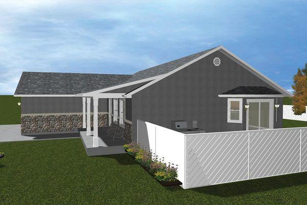 Dream House Plan - Ranch Floor Plan - Other Floor Plan #1060-16