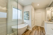 Architectural House Design - Traditional Interior - Master Bathroom Plan #430-228