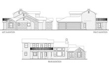 House Plan Design - Mediterranean Exterior - Other Elevation Plan #80-141