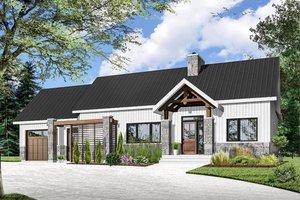 House Plan Design - Ranch Exterior - Front Elevation Plan #23-2637