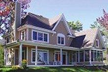 Farmhouse Photo Plan #23-666