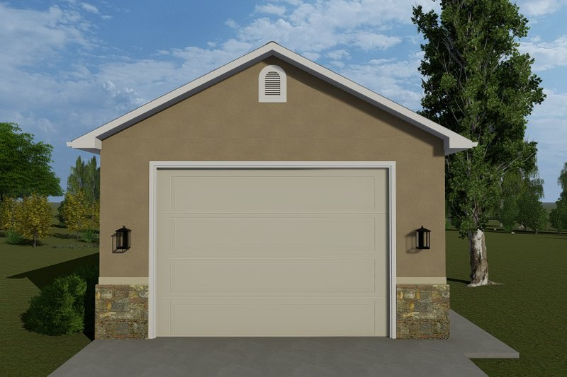 Architectural House Design - Victorian Exterior - Front Elevation Plan #1060-77