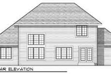 Architectural House Design - Traditional Exterior - Rear Elevation Plan #70-835