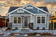 Craftsman Exterior - Front Elevation Plan #895-99