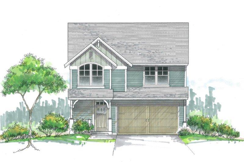 Craftsman Style House Plan - 5 Beds 2.5 Baths 2136 Sq/Ft Plan #53-477