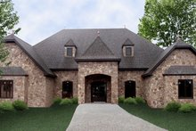 Home Plan - European Exterior - Front Elevation Plan #119-350