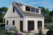 Country Style House Plan - 0 Beds 0.5 Baths 310 Sq/Ft Plan #1064-24 Exterior - Front Elevation