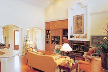 Craftsman Interior - Family Room Plan #417-670