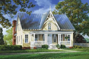 Craftsman Exterior - Front Elevation Plan #137-337