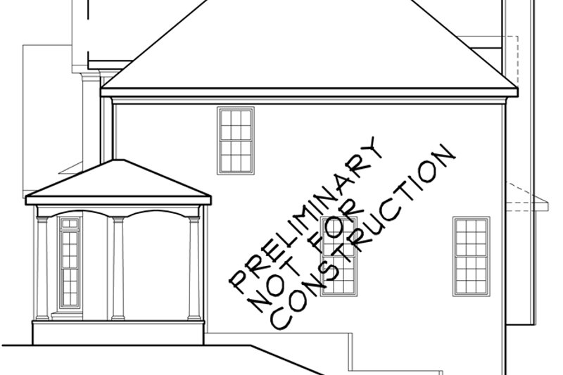 Traditional Exterior - Other Elevation Plan #927-230 - Houseplans.com